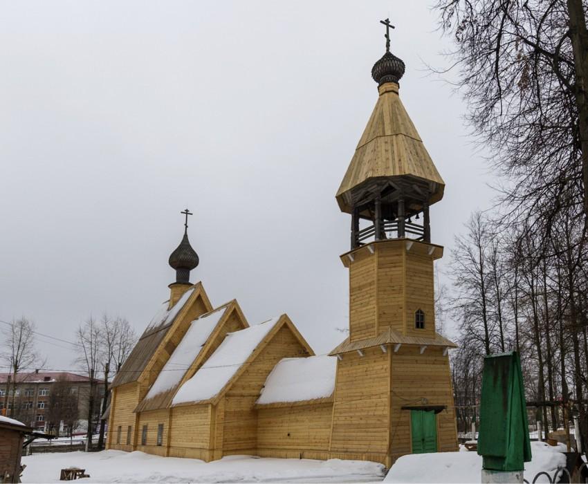Церковь Успения Пресвятой Богородицы в Иваново, до пожара