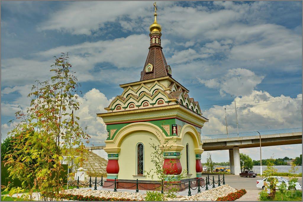 Часовня «Царская голгофа» в Костроме