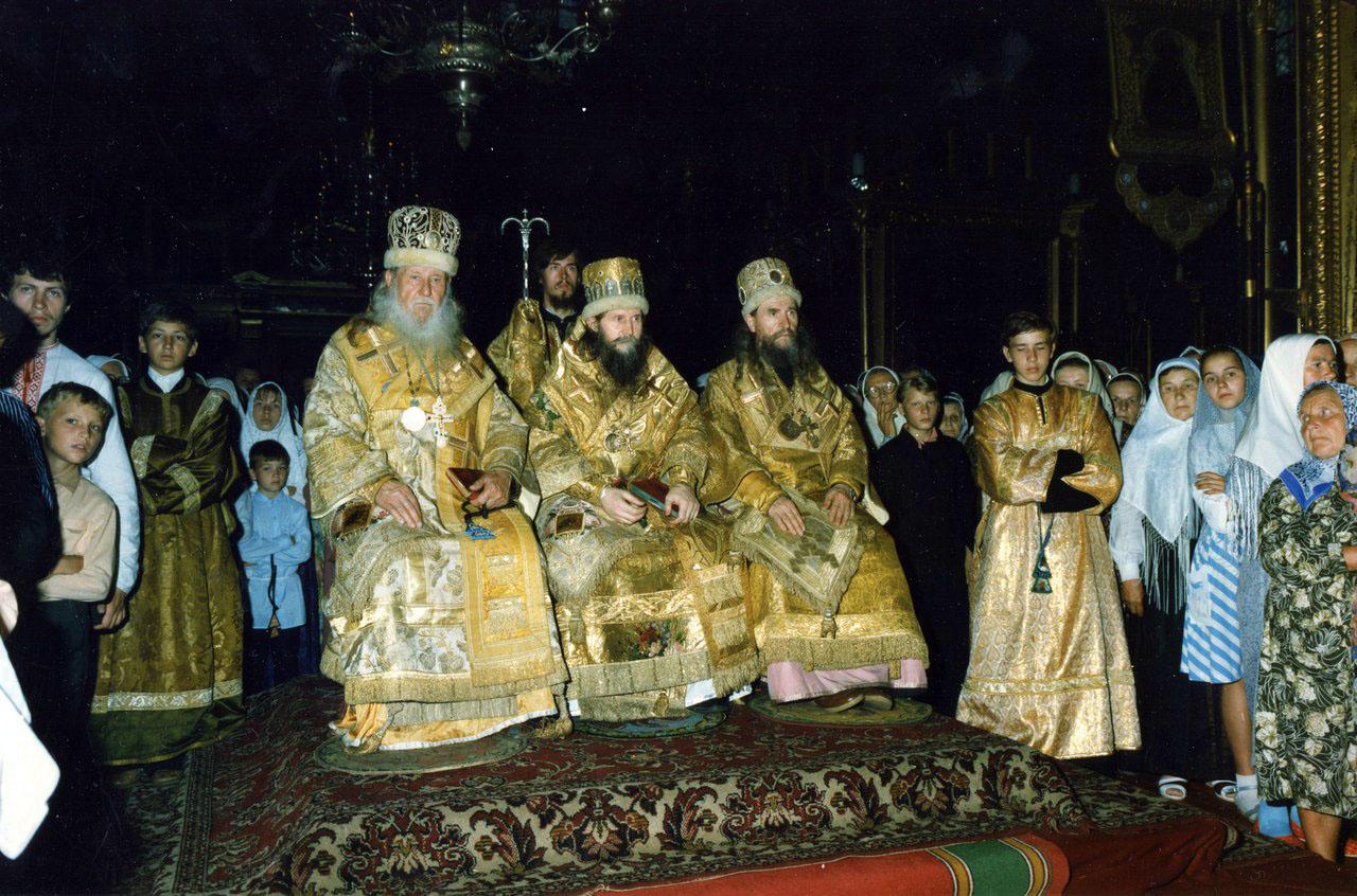 Интронизация Митрополита Алимпия 24 июля 1988 г.