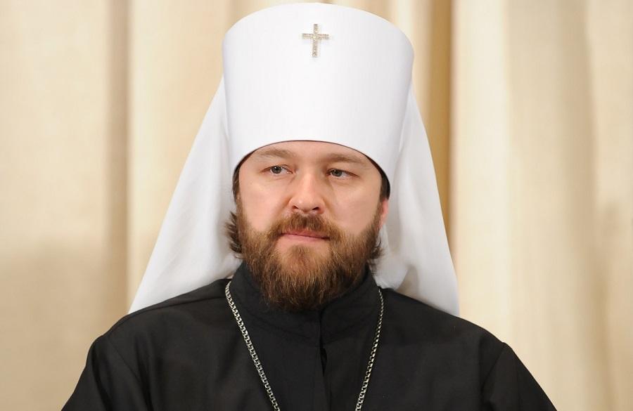 Митрополит Волоколамский Иларион, председатель Отдела внешних церковных связей Московского Патриархата