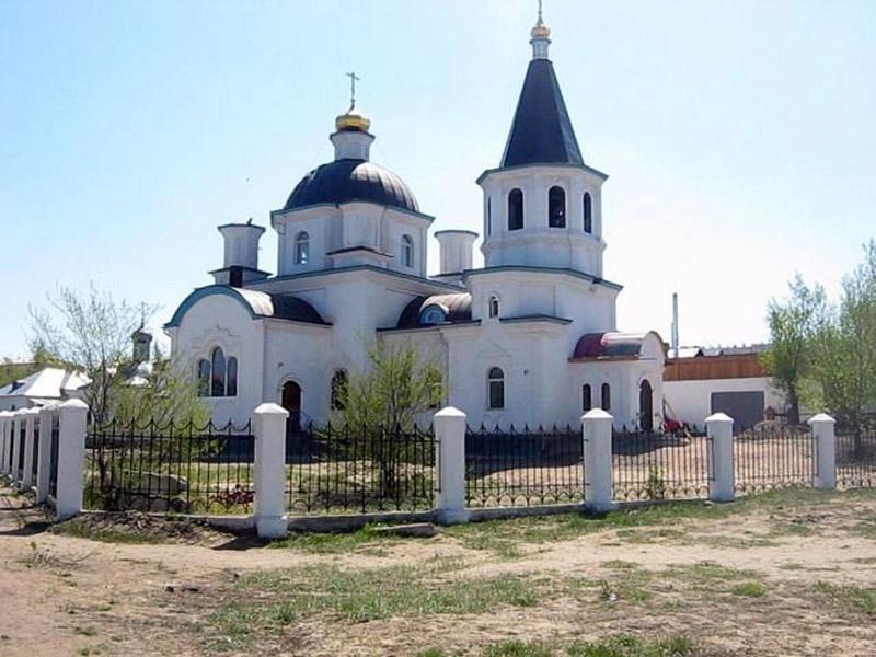 Кафедральный храм Рождества Христова. Улан-Удэ