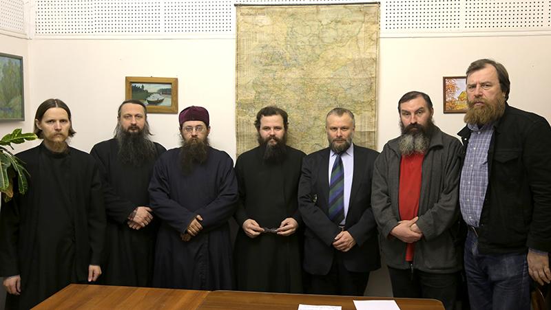 Участники первого заседания рабочей группы. 15 января 2016 г.  Фото с сайта rpsc.ru