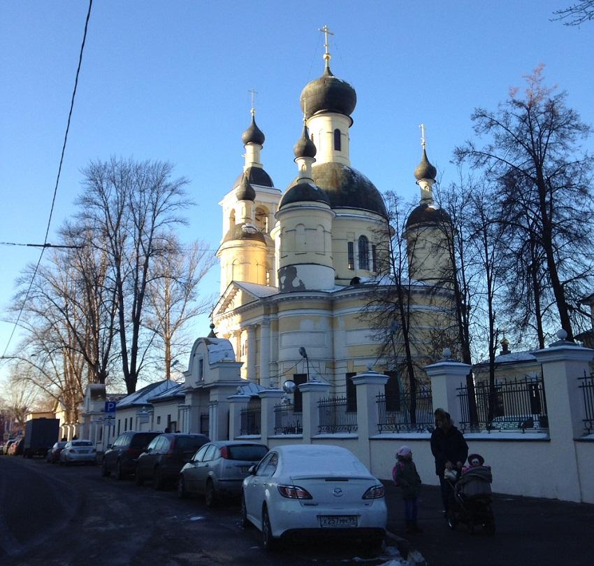 Храмовый комплекс на ул. Самокатной