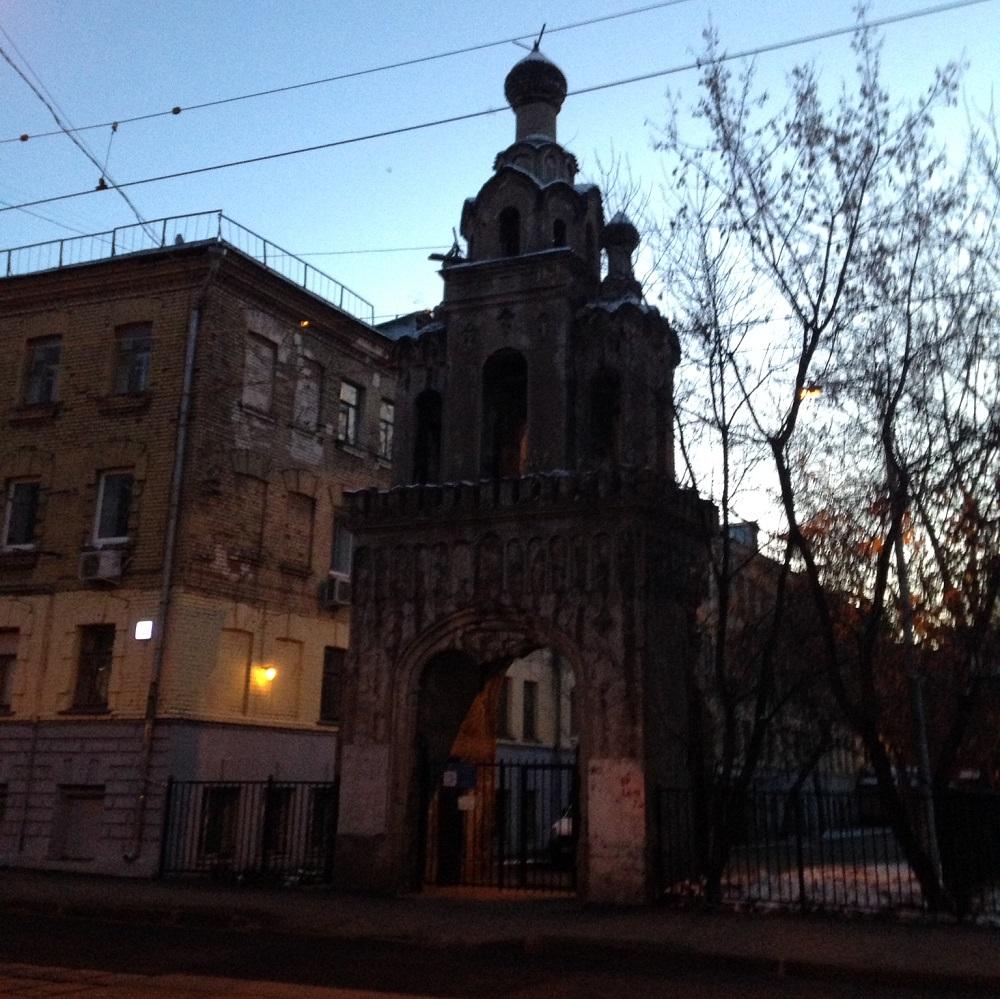 Звонница бывшего храма св. великомученицы Екатерины