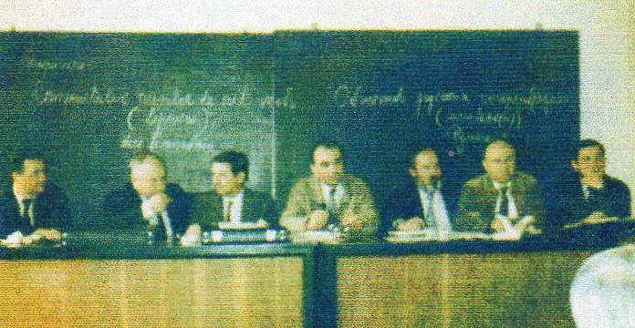 Основатели Общины на встрече 25 января 1990 г.