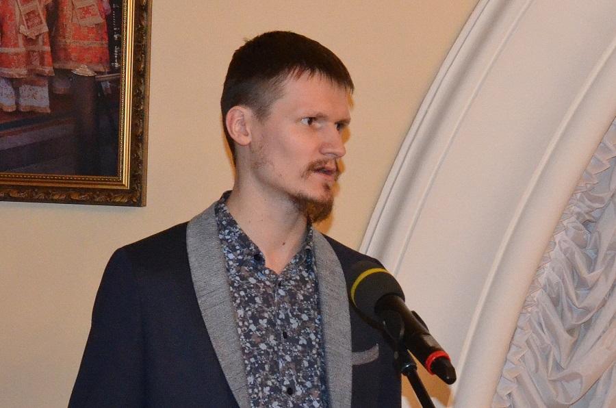 Владимир Басенков на конференции «Старый обряд в жизни Русской Православной Церкви: прошлое и настоящее», 2016 год