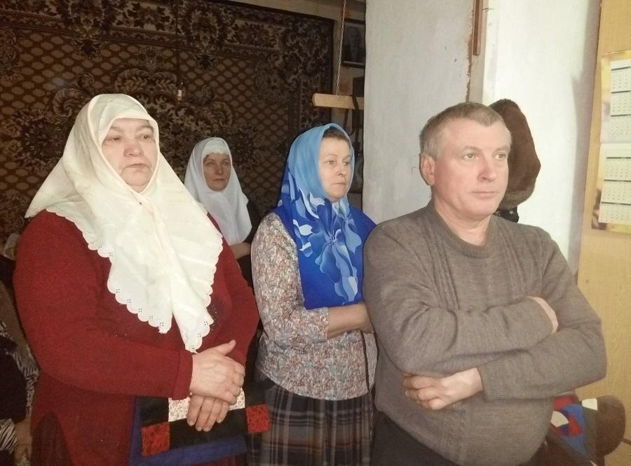 На службе мученикам и страдальцам отцам Соловецким