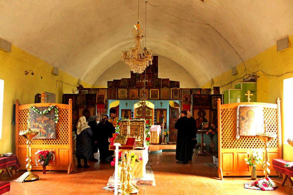Храм Покрова Пресвятыя Богородицы, поселок Ольховатка