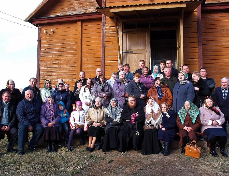 Староверы за рубежом — прихожане Райстинишкской староверческой общины ДПЦ Литвы, февраль 2016 года