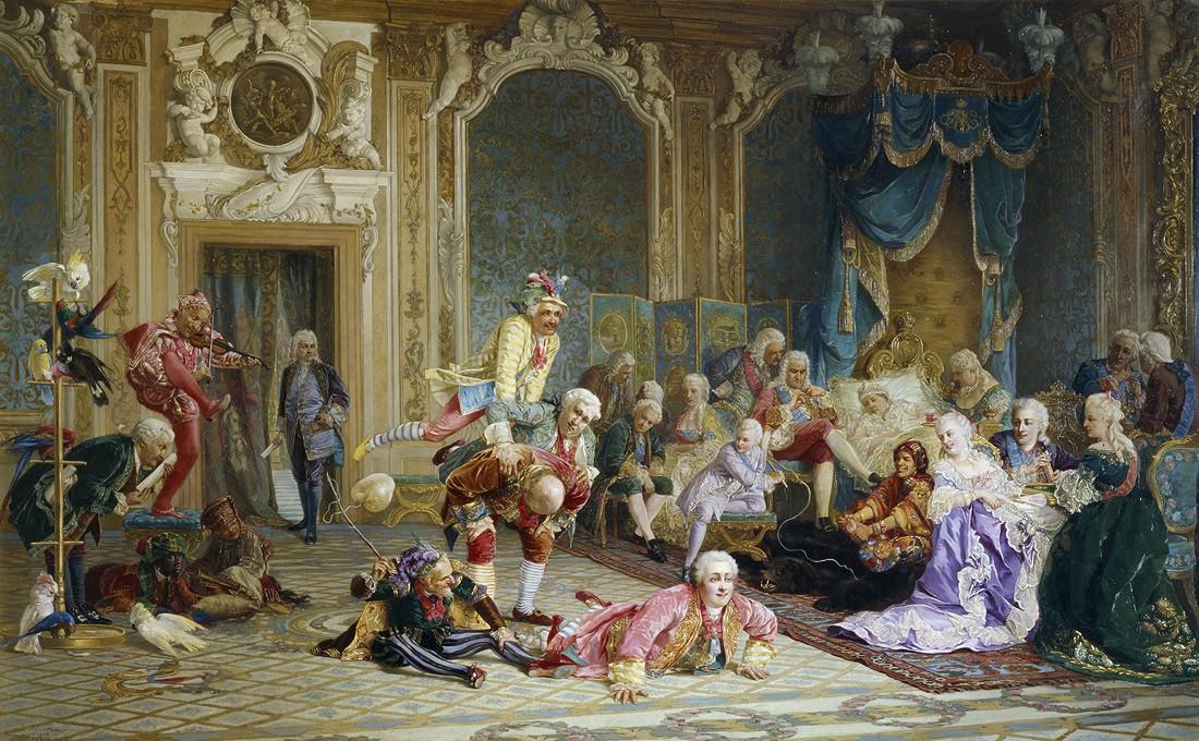 В.И. Якоби (Якобий) Шуты при дворе Анны Иоанновны. 1872