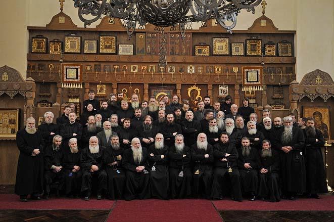 Съезд духовных наставников ДПЦ в Невской обители, декабрь 2008 года
