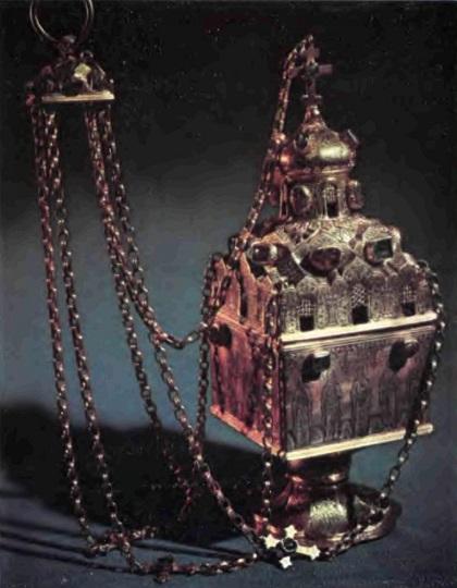 Кадило 1598 г. Оружейная палата Московского Кремля
