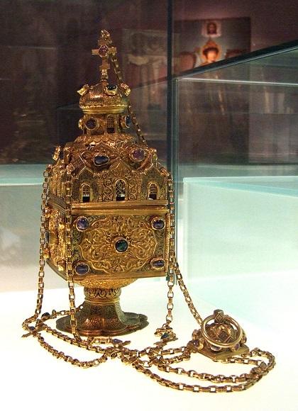 Кадило, 1616 год. Вклад царя Михаила Федоровича в Троице-Сергиев монастырь