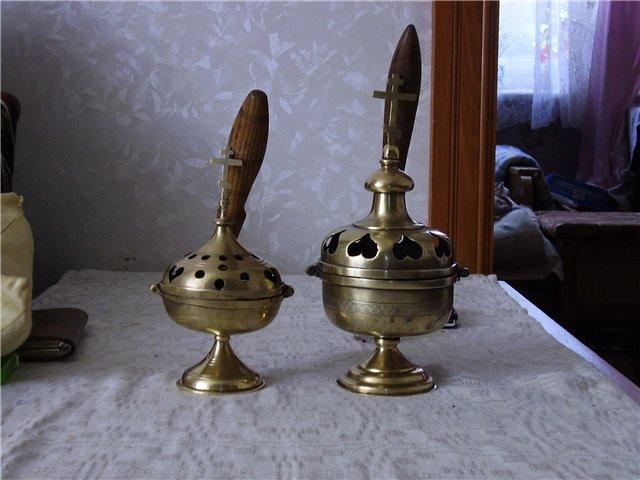 Кадильница (кацея) латвийских федосеевцев