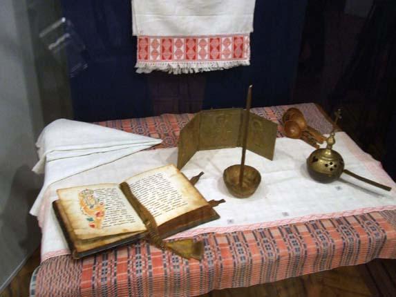 Экспозиция выставки в Российском этнографическом музее г. Санкт-Петербурга