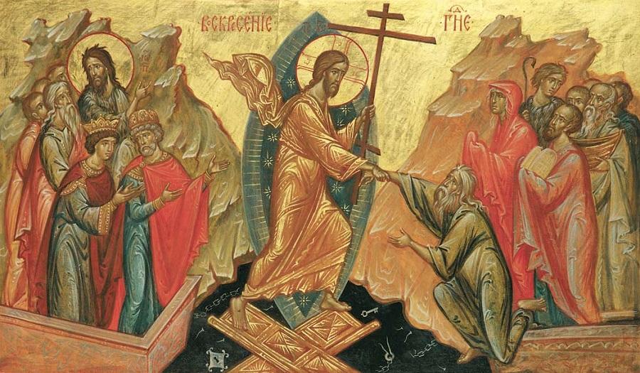 Воскресение Христово. Праздничная икона