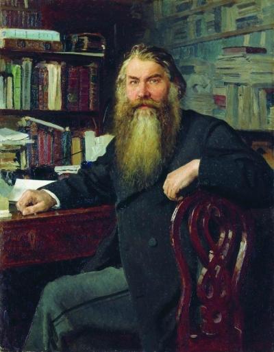 И.Е. Репин Портрет И. Е. Забелина (1877)