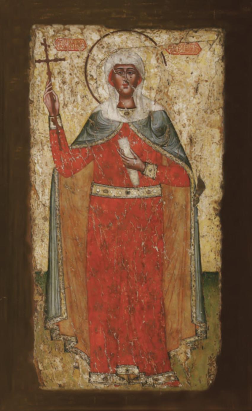 Святая равноапостольная Нина, просветительница Грузии. XVI век. Грузия