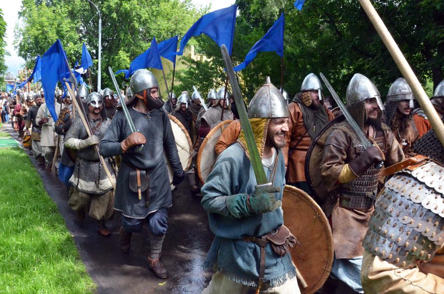 Древняя Русь в Коломенском  Скандинавы Викинги