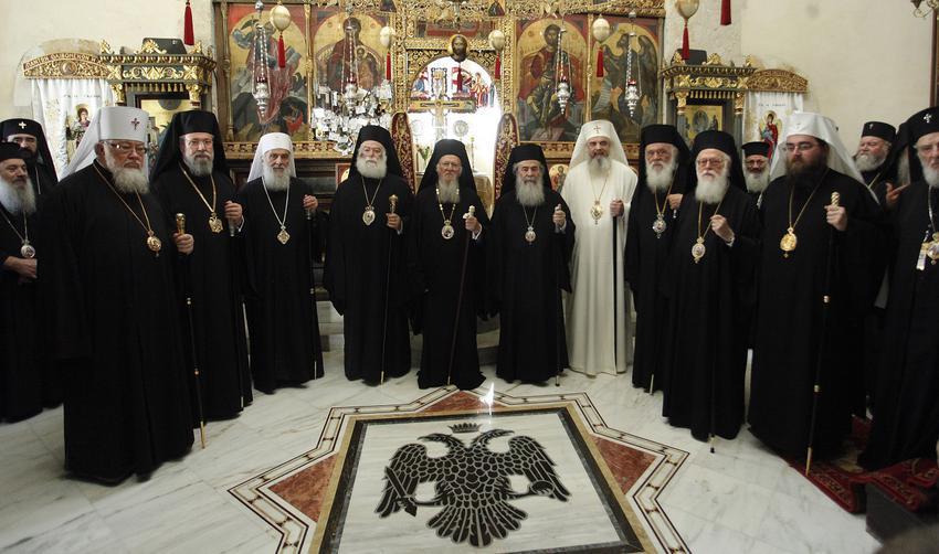 На собор прибыли предстоятели 10 поместных православных церквей