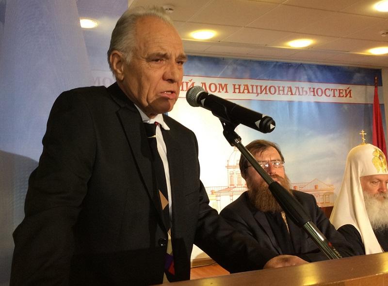 Один из основателей Общины русских-липован Румынии, профессор Бухарестского университета Феодор Кирилэ