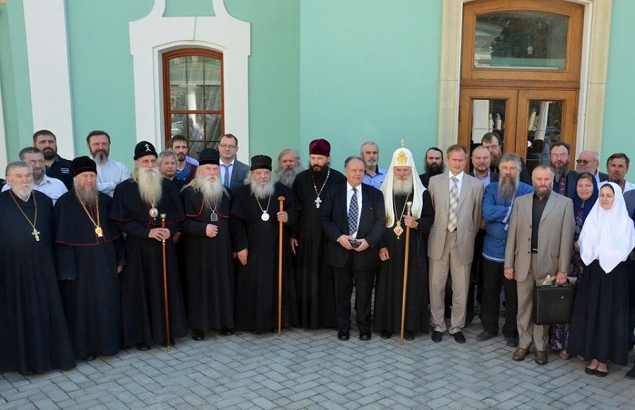 Участники конференции «Старообрядчество, государство и общество в современном мире»