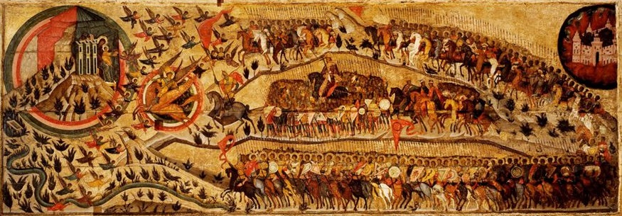 «Благослове́нно во́инство Небе́сного Царя́» (в советском искусствознании — «Це́рковь вои́нствующая») — икона, написанная в 1550-х годах по заказу Ивана Грозного в память о его Казанском походе 1552 года