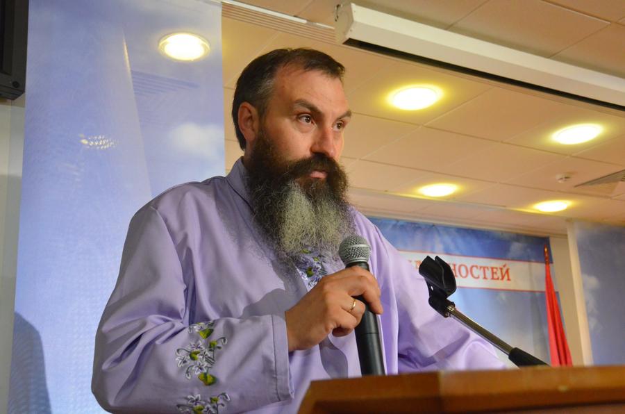 Алексей Александрович Безгодов на международной старообрядческой конференции «Старообрядчество, государство и общество в современном мире», 23-24 июня 2016 г.
