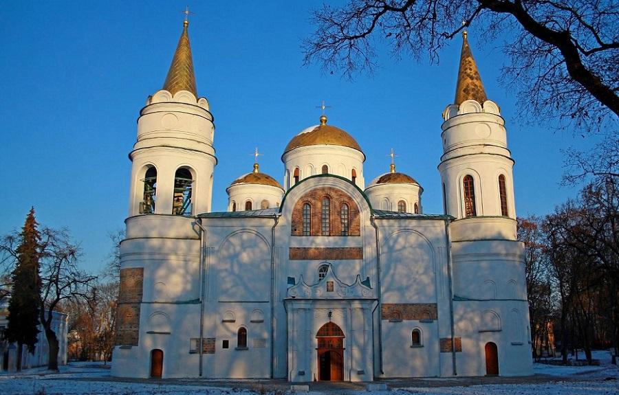 Спасо-Преображенский собор в Чернигове (Украина)