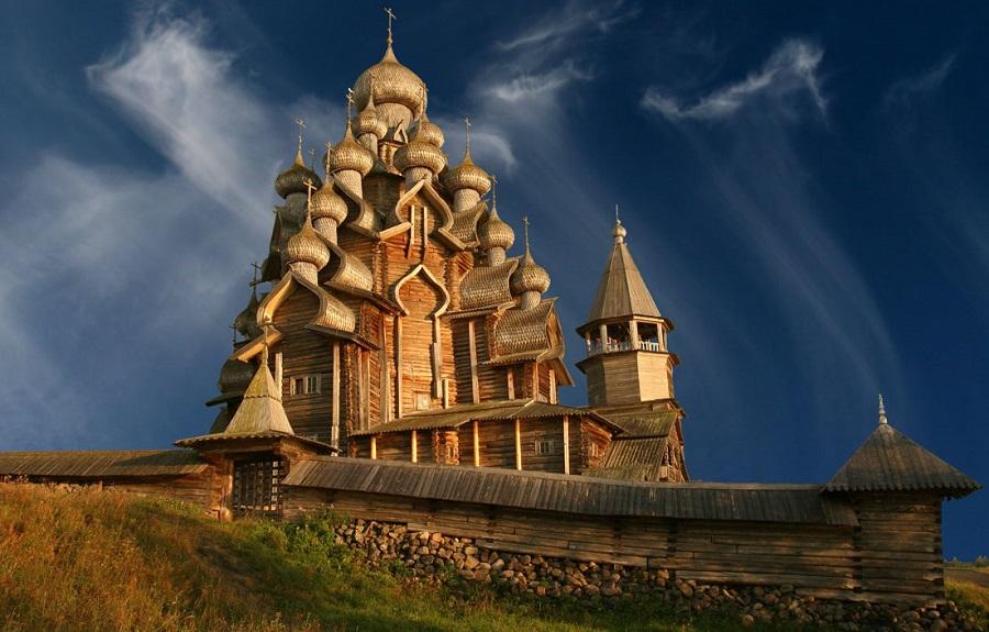 Храм Преображения Господня на острове Кижи