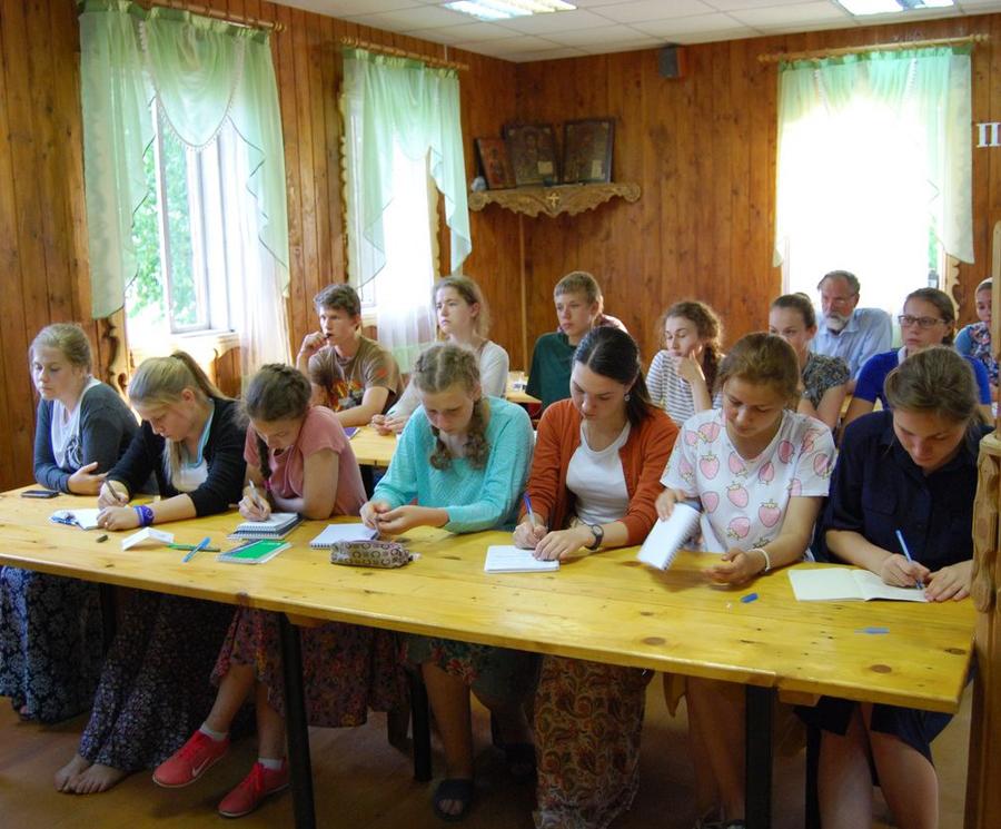 Вторая образовательная смена в «Ржевской обители». Фото из группы ВК «Ржевская обитель»