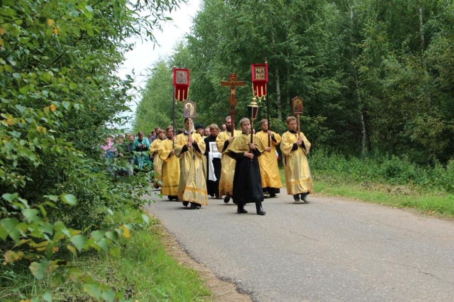 Великорецкий Крестный ход, август 2015 г.