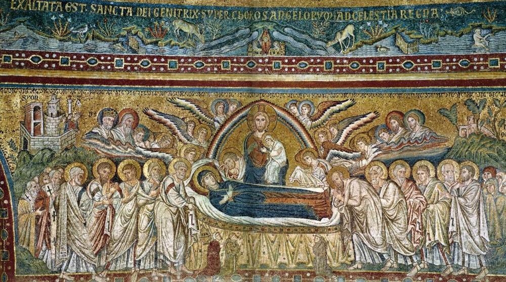 Успение Пресвятой Богородицы. Рим, ХIII век