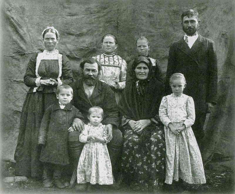 Уральская казачья семья. Начало ХХ века