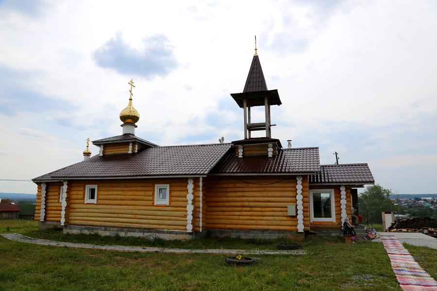 Строящийся храм во имя святого князя Владимира РПсЦ
