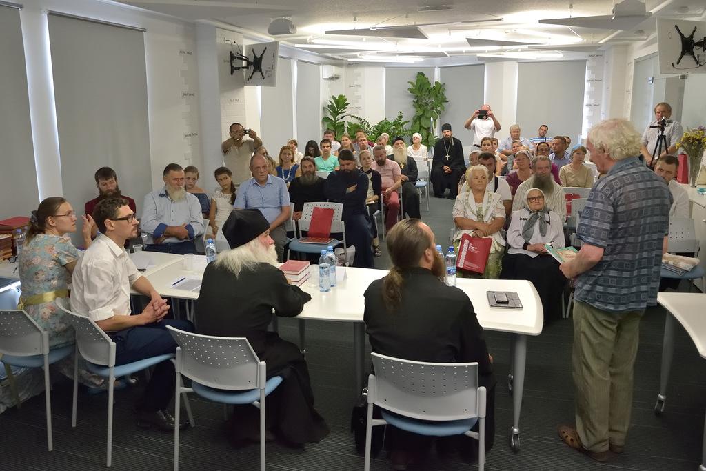 26 августа 2016 г. представители «Благотворительного фонда по сохранению православных общин» провели круглый стол