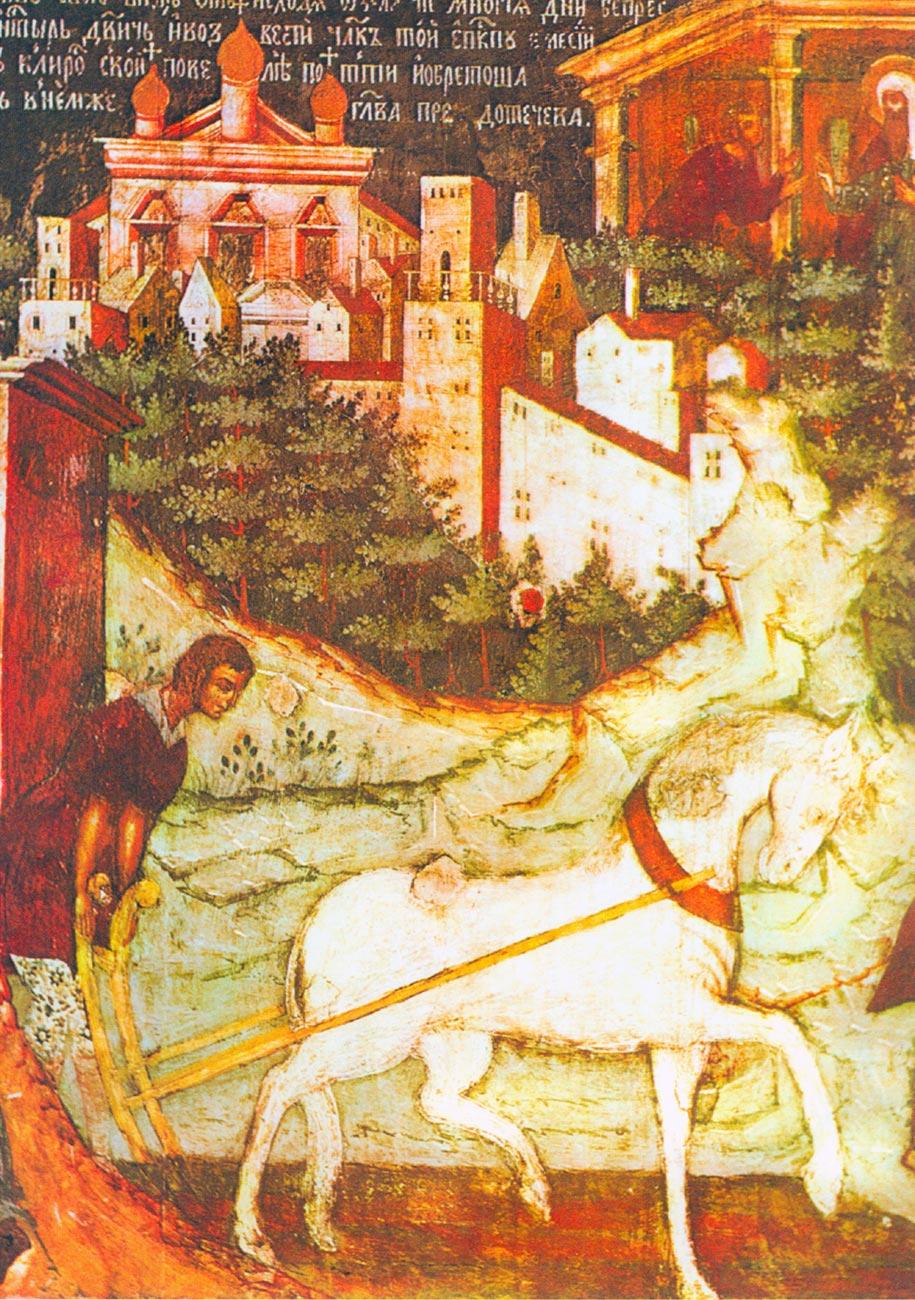 Икона Второе обретение главы Иоанна Предотечи