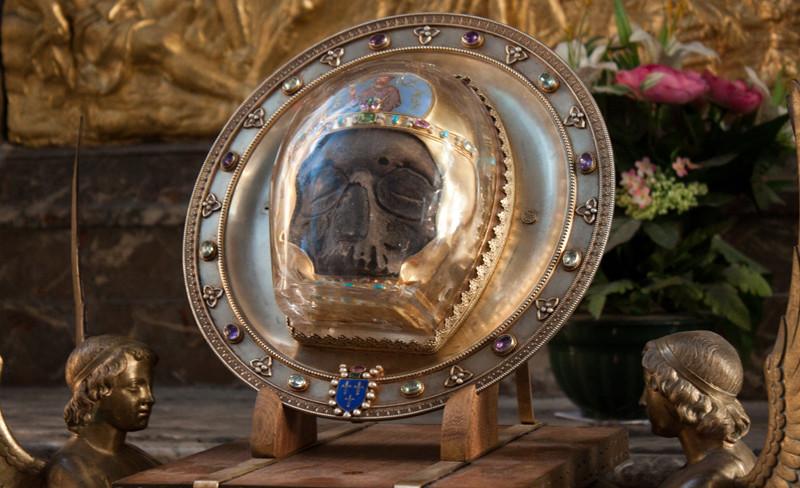 Святая глава Иоанна Предотечи из Собора Амьенской Богоматери во Франции