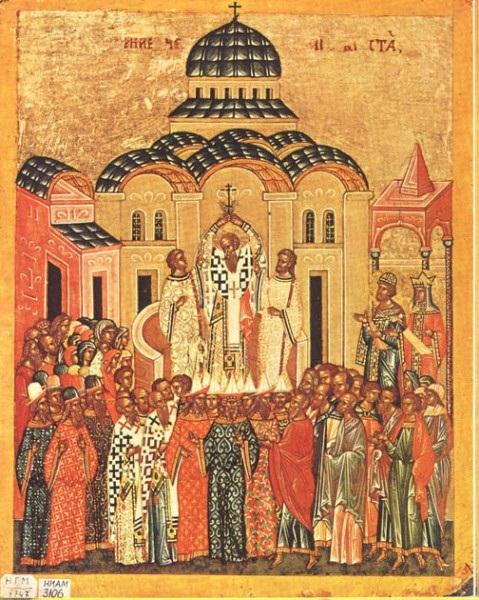 Воздвижение Креста. Новгород. Конец XV века