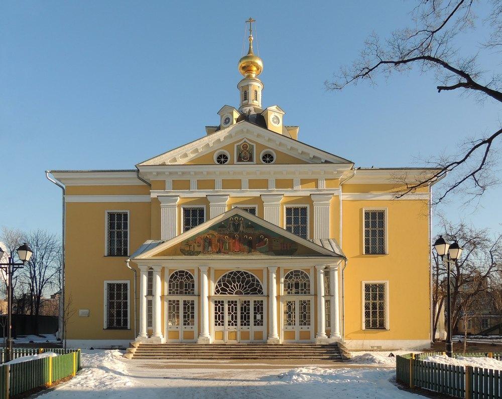 Покровский кафедральный собор Русской Православной старообрядческой Церкви на Рогожском кладбище