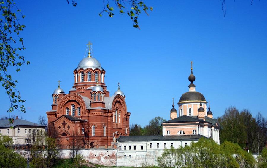 Ансамбль Хотьково-Покровского монастыря. Современная фотография