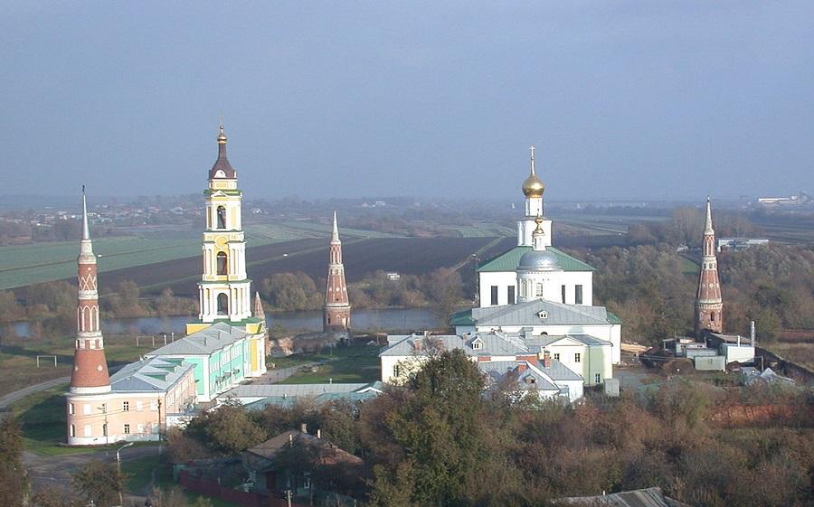Богоявленский Старо-Голутвин мужской монастырь. Современная фотография
