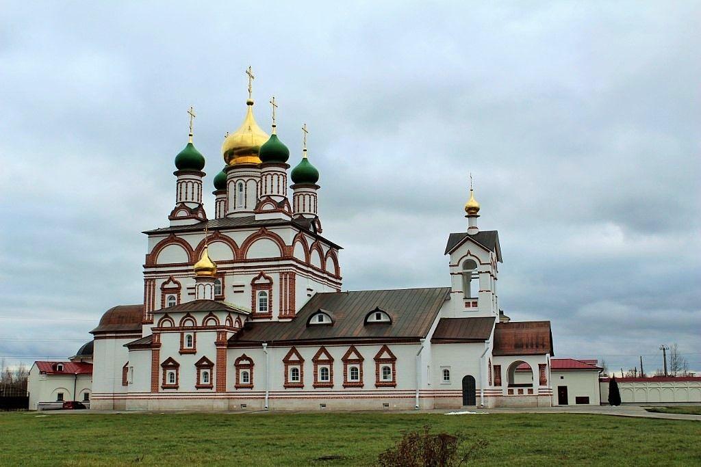 Троице-Сергиев Варницкий монастырь. Современная фотография