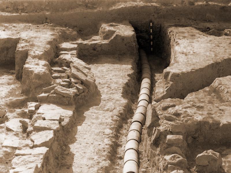 Раскопки Восточной бани XI-XII вв