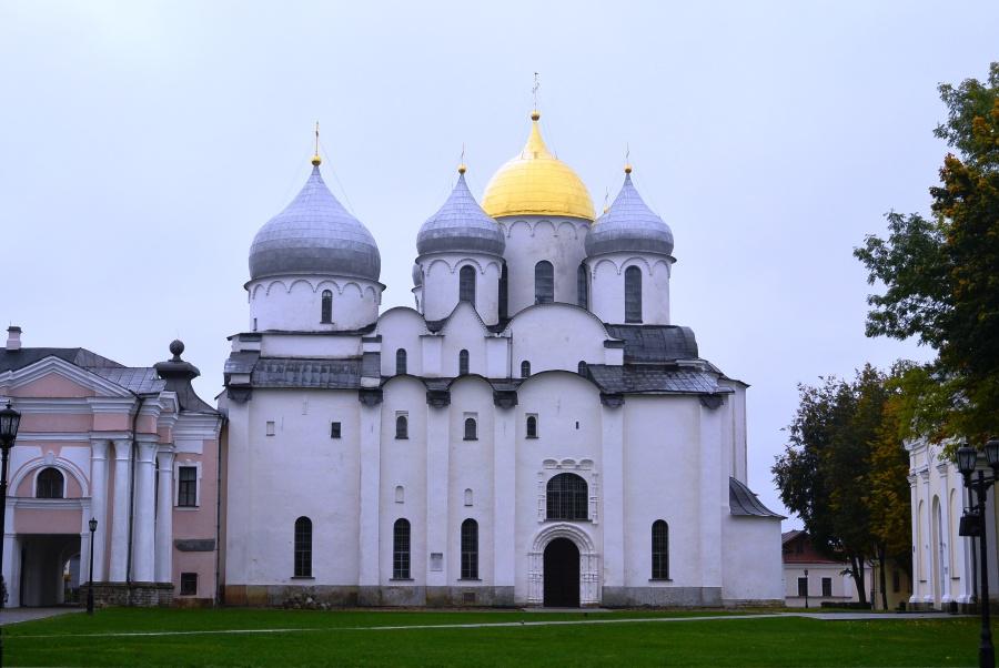 Софийский собор в Великом Новгороде. 1045–1050 годы