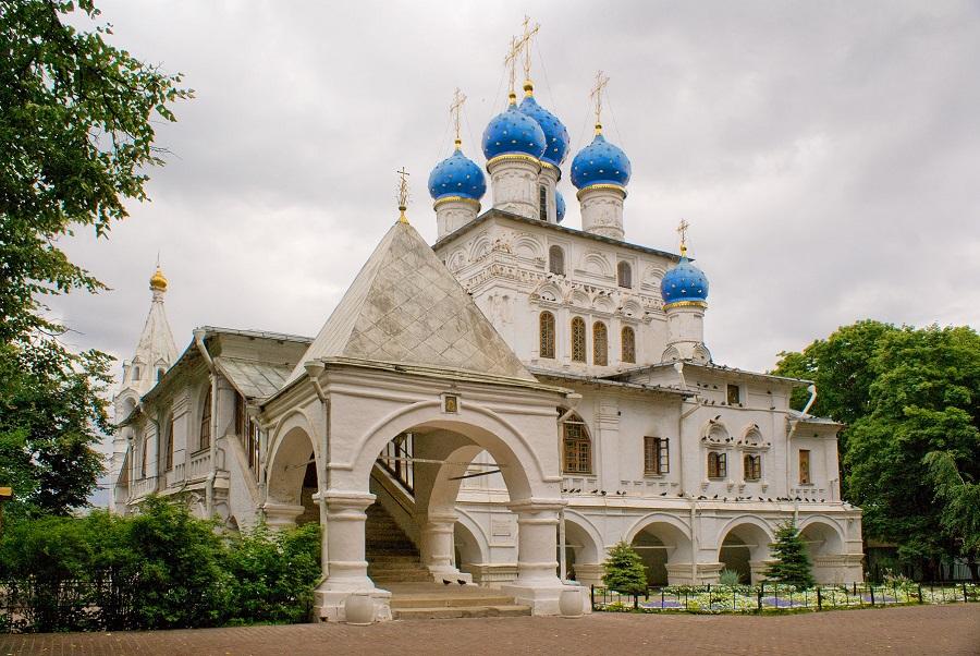 Храм иконы Казанской Богородицы в Коломенском. Современный вид