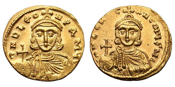 Лев III Исавр и его сын Константин V Копроним