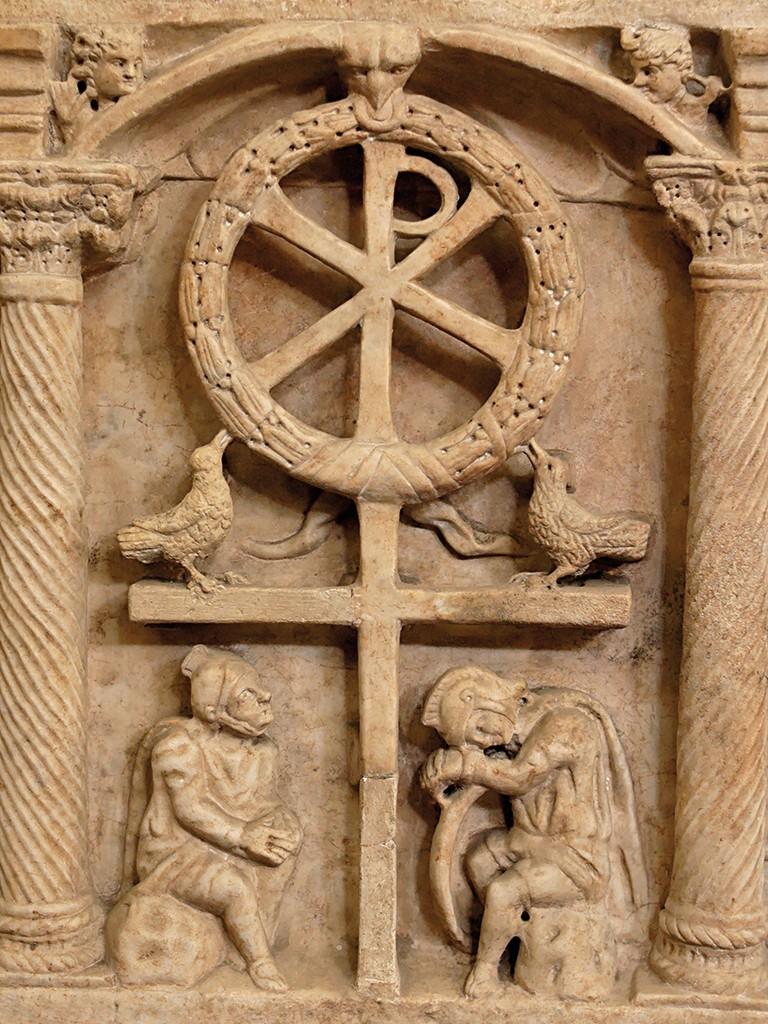 Крест царя Константина Великого, хранящийся в афонском монастыре Ватопед
