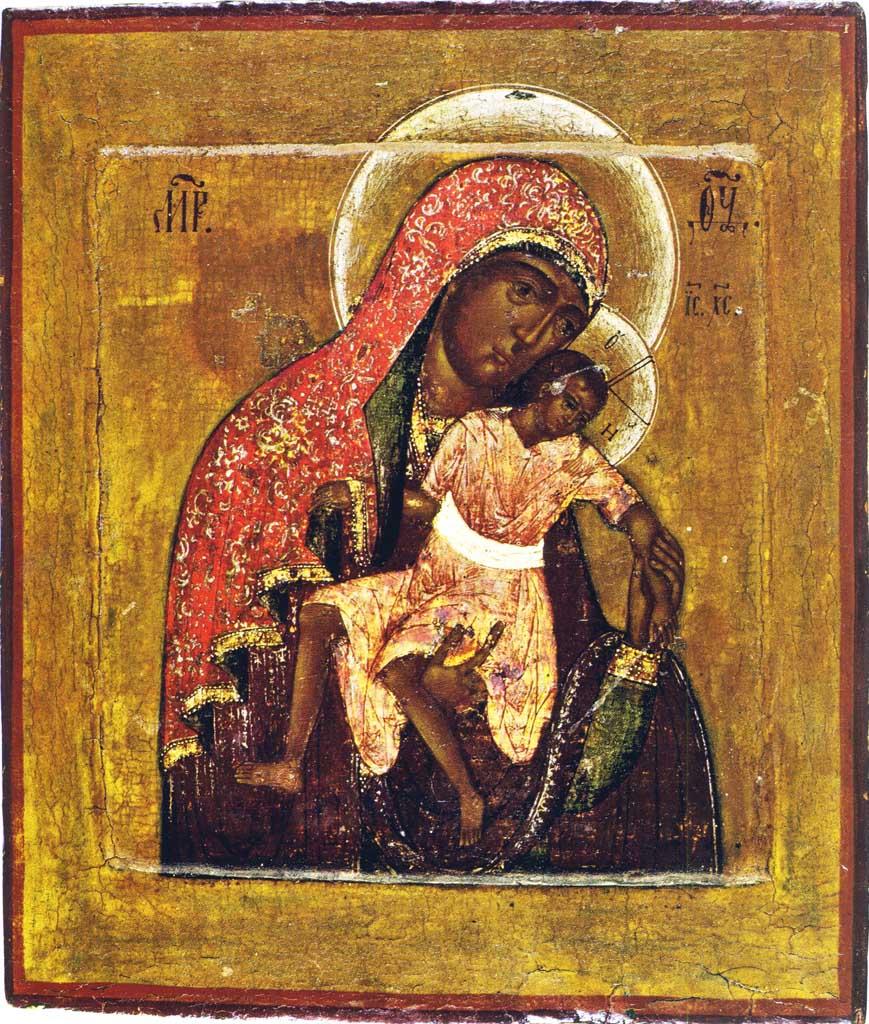 Икона Божией Матери Киккская — Милостивая