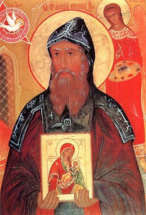 Святой Алимпий Печерский (ок. 1070 — ок. 1114)